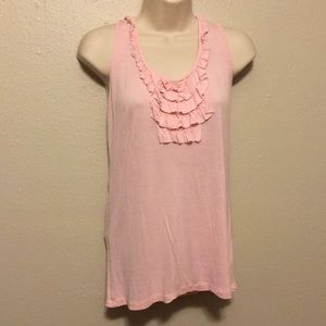 Light Pink Frilly Top from Old Navy Size M Medium